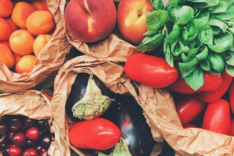 Image symbolisant les fruits et légumes de saison
